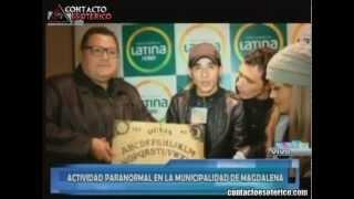 Actividad Paranormal - Municipalidad de Magdalena con Félix Rivera