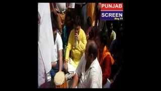 Rajiv Tandon in Protest Dharna by Hindu Sanyukat Morcha