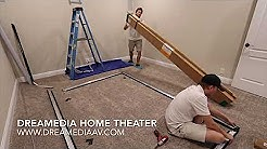 How to Build, Assemble and Install a Projector Screen