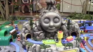 東京スカイツリータウンのソラマチでプラレールトーマスのジオラマが凄 thumbnail