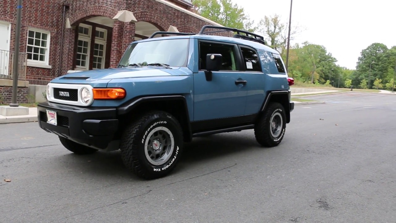 64 995 brand new 2014 toyota fj cruiser trail teams for sale one of 2500 produced only 9. Black Bedroom Furniture Sets. Home Design Ideas