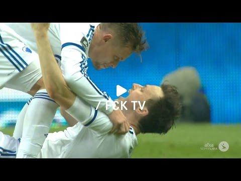 Highlights: FCK 2-0 Brøndby IF