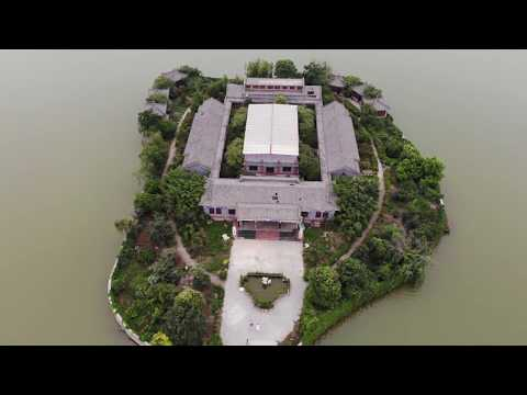 Shangqiu South Lake 🇨🇳 (2018-06) {aerial}