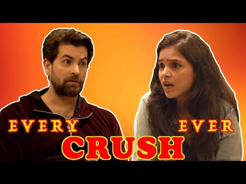 Every CRUSH ever! Ft. Neil Nitin Mukesh | Simran Dhanwani