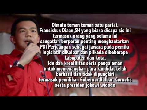 Profil Singkat Fransiskus Diaan,SH Calon Bupati Kab. Kapuas Hulu 2015-2020