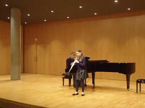 Mozart - Oboe Quartet K370 - Andrea Cristina Budau, 12 años