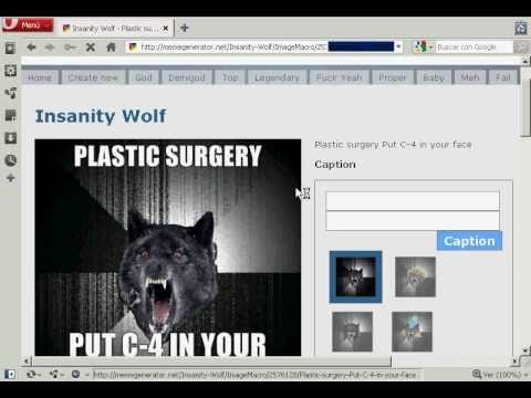 insanity wolf and plastic surgery youtube