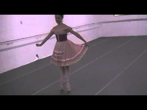 Ballet Adriana Assaf / La Fille Mal Gardee Var  Fem