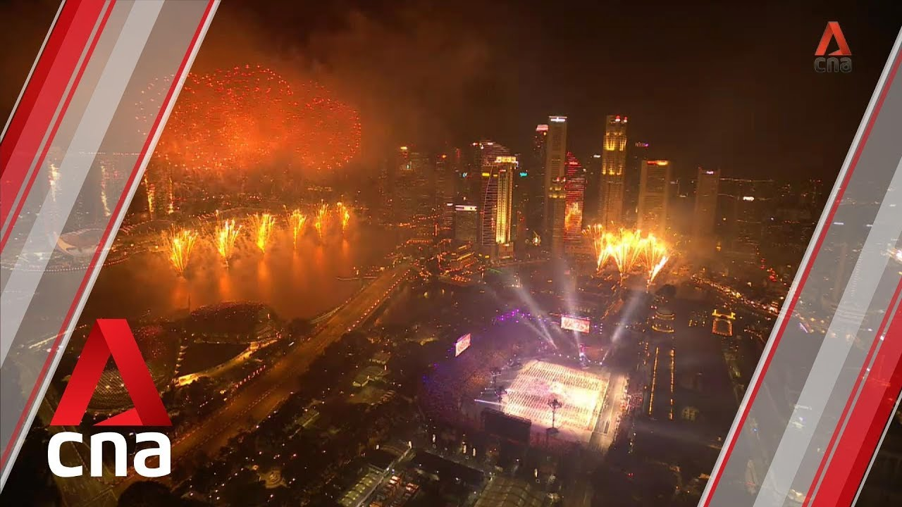 NDP 2019: Fireworks light up the night