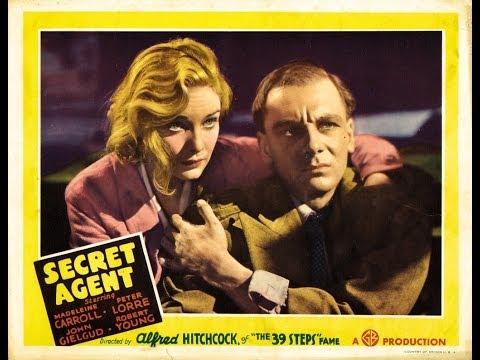 Alfred Hitchcock - Secret Agent - Best old movie