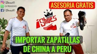 IMPORTAR ZAPATILLAS De China A Peru  | Importar Zapatillas Replica 11 De China A Perú