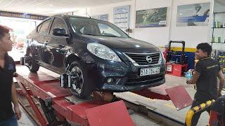 Ô tô phát ra tiếng hú khó chịu do bạc đạn hư - gara Cường Nguyễn
