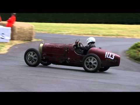 Tim Dutton's Bugatti Barn Find at the 2015 Chateau Impney Hill Climb