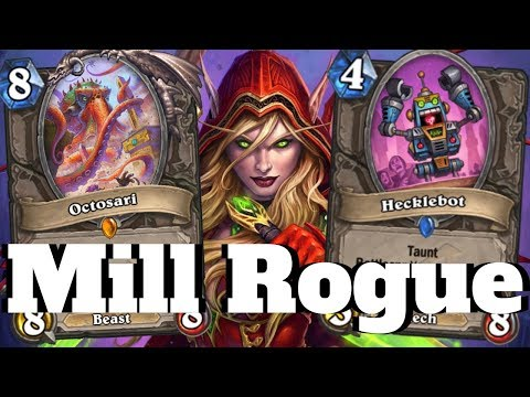 Octosari Mill Rogue OTK! Mischief Making With Hecklebot! [Hearthstone Game Of The Day]