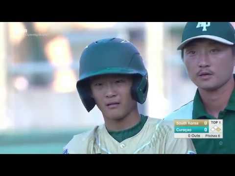 LLBWS 2016 - Game 7 - AP vs CB   Seoul South Korea vs  Willemstad Curacao - #LLWS16