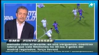 Ballesteros y Pepe se enfrentaron tras el partido.