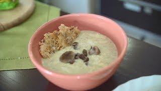 Грибной суп-пюре: рецепт от Алейки