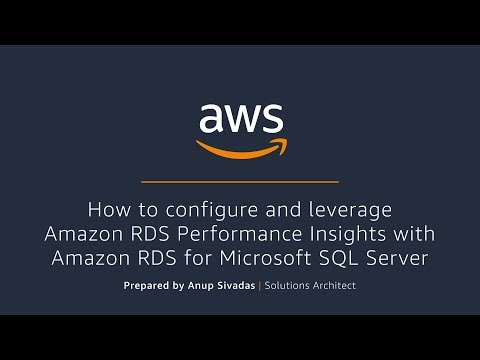 How to configure and leverage Performance Insights with RDS SQL Server