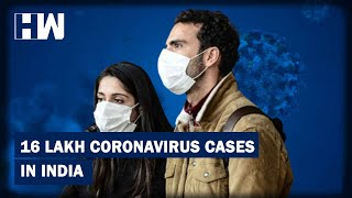 Headlines: India's Coronavirus Cases Cross 16 Lakh Mark With 55000 Cases In A Day