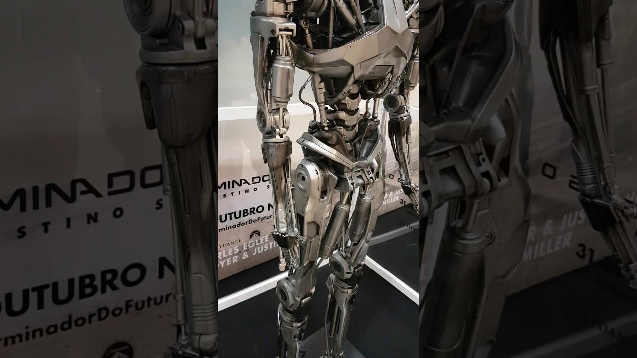 O exterminador do futuro 6 o destino sombrio Robo  Real do filme