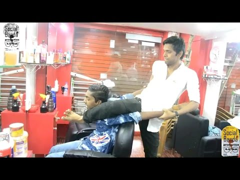 Saloon prank    Part 2    Prank In India    Prank 2017    Salon Prank    Social Banda
