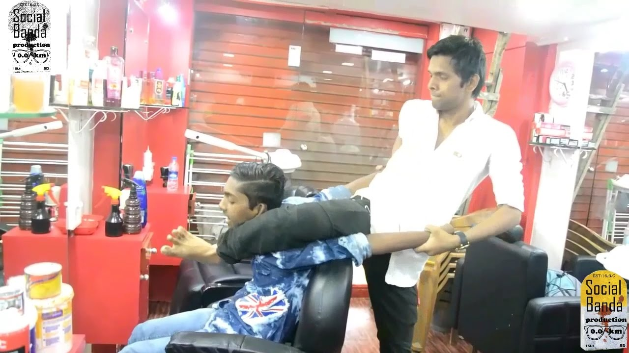 Saloon prank || Part 2 || Prank In India || Prank 2017 || Salon Prank || Social Banda