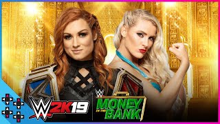 WWE Money In The Bank 2019: Becky Lynch vs. Lacey Evans – Raw Women's Title Match – WWE 2K19 Sims
