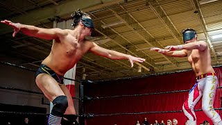 BLINDFOLD MATCH - Anthony Greene vs. Cam Zagami (Chaotic Wrestling Free Match)