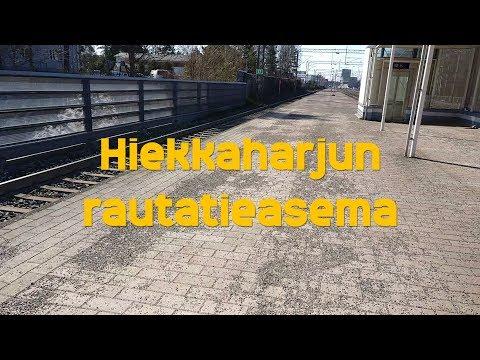 Hissivideo: Hiekkaharjun rautatieasema,