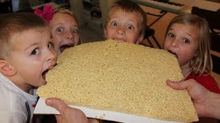 World's Largest Rice Krispie Treat