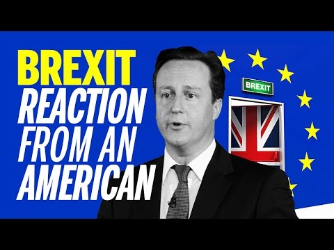 David Cameron Resigns After UK Votes To Leave the European Union - American Reaction #BREXIT