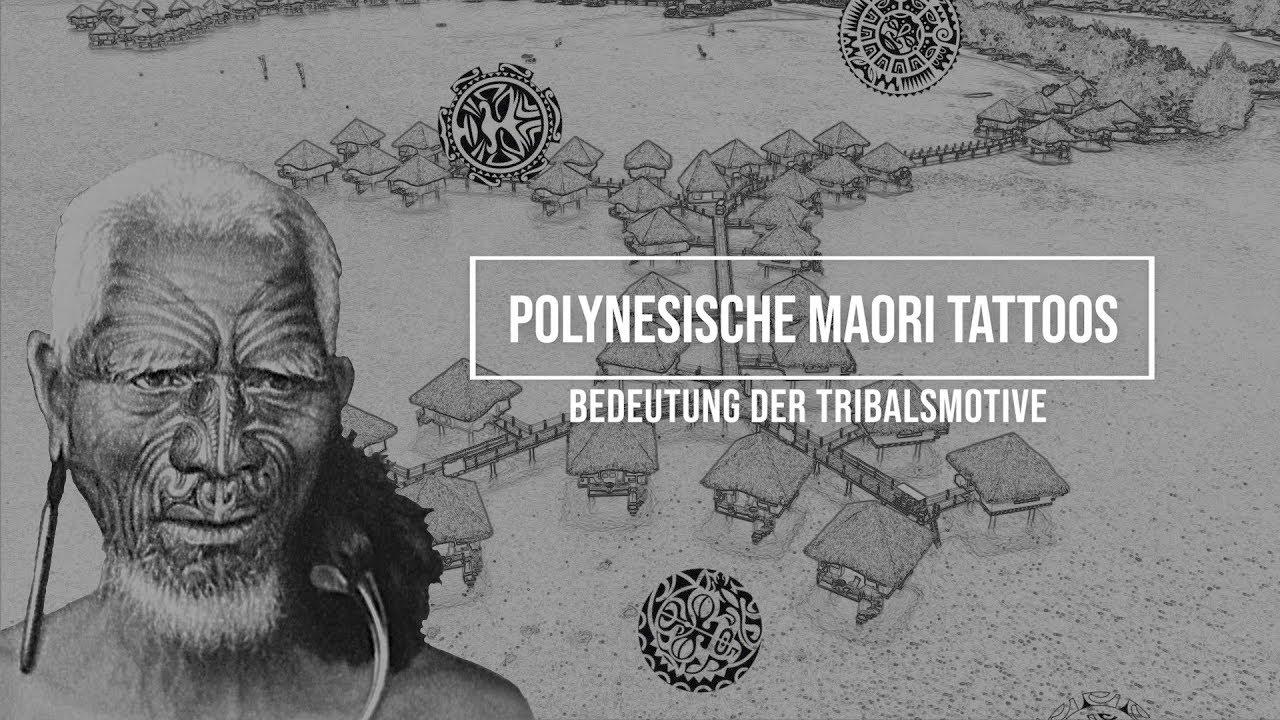 07e761d5f Polynesische Maori Tattoos: Bedeutung der Tribalsmotive