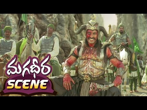 Ram Charan 100 Soldier Fight || Magadheera...