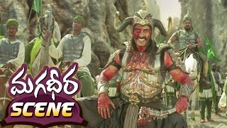 Ram Charan 100 Soldier Fight || Magadheera Telugu Movie || Geetha Arts