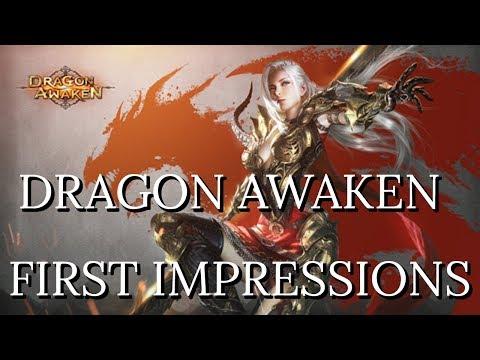 Dragon Awaken First Impressions - 3D Turn Based Browser RPG