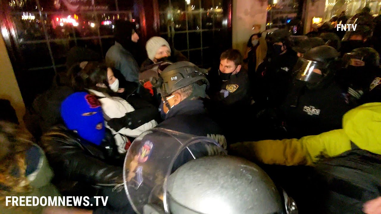 Download 2 Cops Injured, 11 BLM Protesters Arrested in NYC