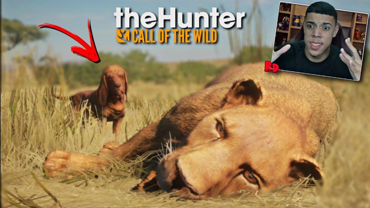 O MEU CACHORRO PEGOU UMA LEOA! ( CÃO FAREJADOR ) -The Hunter Call Of The Wild