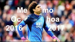 Memo Ochoa - Most Underrated Goalkeeper - (Best Saves) - 2016/2017