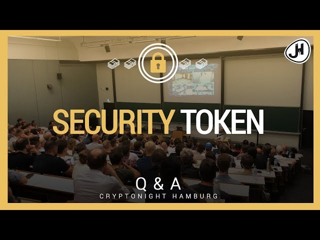 Security Token - Was halte ich davon? | Cryptonight Hamburg