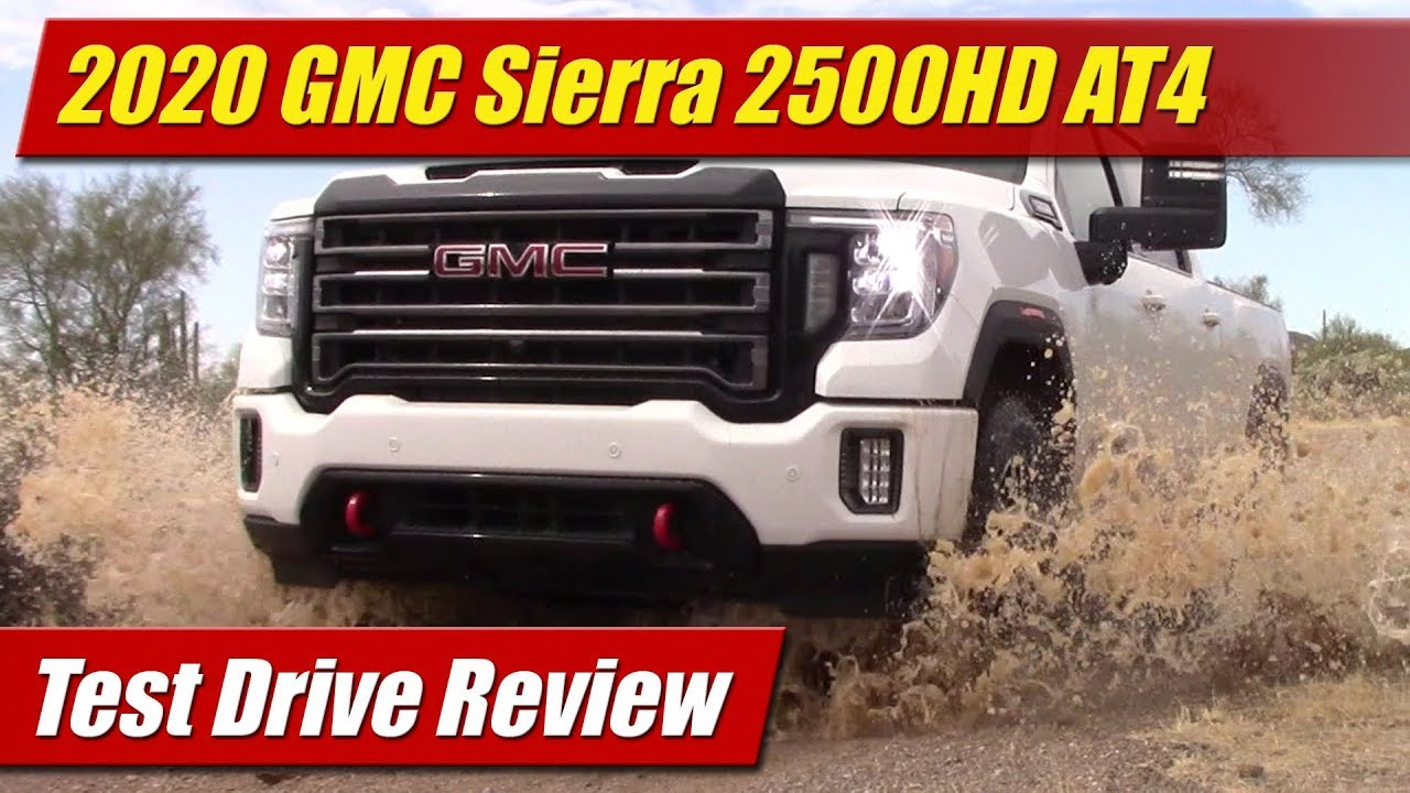2020 Gmc Sierra 2500 Hd At4 Test Drive Youtube