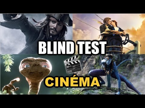 BLIND TEST CINÉMA (FILMS, DISNEY...)