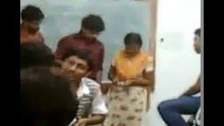 Ragging of  Barasat Govt college