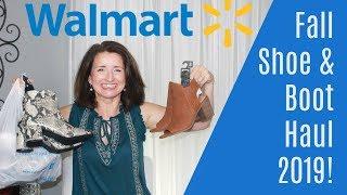 Walmart Fall Shoes, Boots & Booties Haul 2019