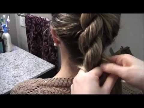 Tutorial 3 The French Twist Into Rope Braid Youtube