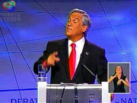 Claudio Elórtegui vs Piñera