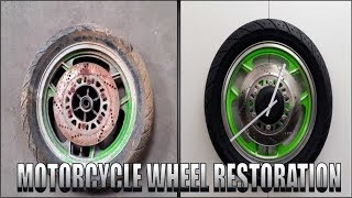 Severely Neglected Wheel Restoration 2 - With a twist
