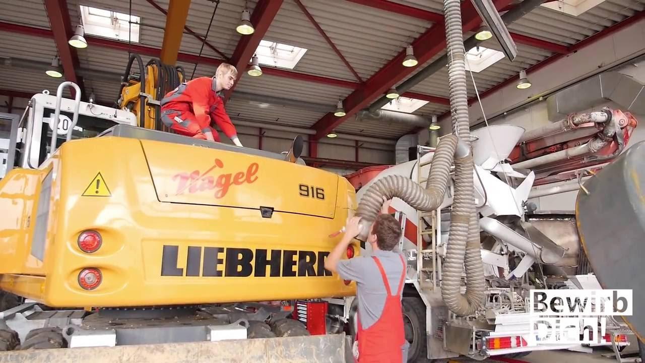 Ausbildung: Mechatroniker/in für Land- und Baumaschinentechnik bei ...