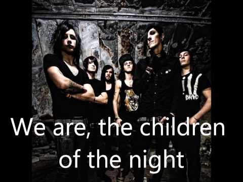 We Only Come Out At Night (lyrics)-Motionless In White