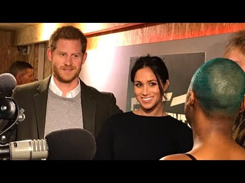 Meghan Markle SECOND Royal Engagement With Prince Harry At Reprezent Radio Brixton London