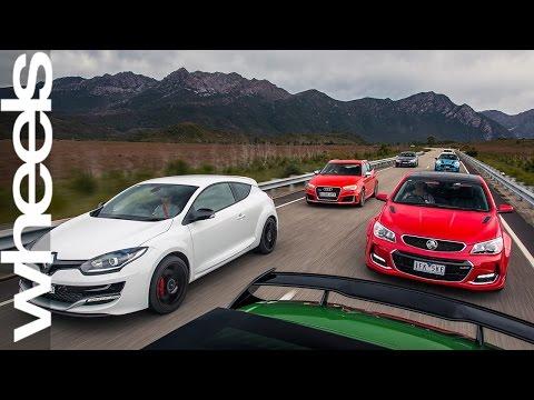 Seven Performance Car Comparison Review | Car Reviews | Wheels Australia